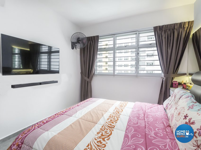 Scandinavian Design - Bedroom - HDB 4 Room - Design by MJS Interior Pte Ltd