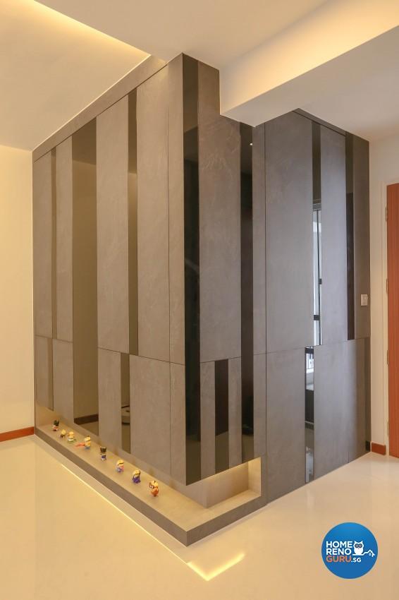 Modern, Resort Design - Living Room - HDB 5 Room - Design by MJS Interior Pte Ltd