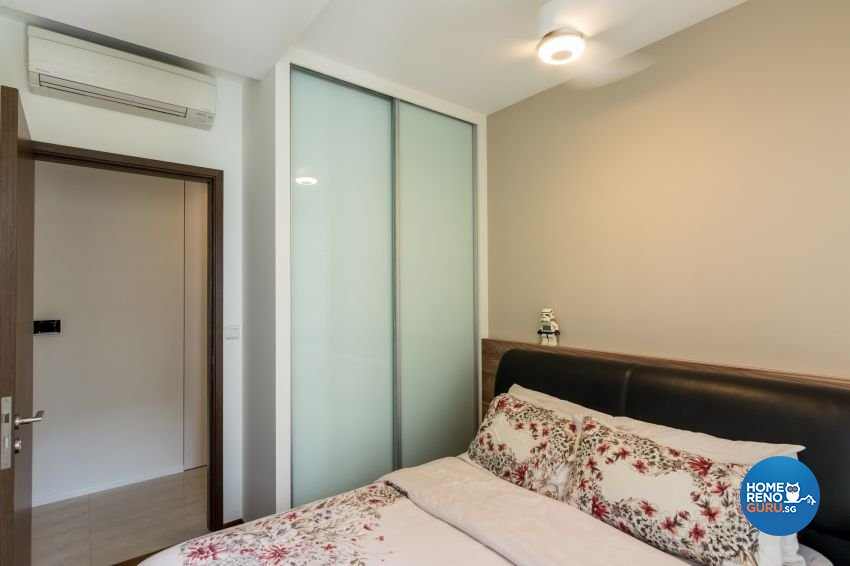 Modern, Scandinavian Design - Bedroom - Condominium - Design by MJS Interior Pte Ltd