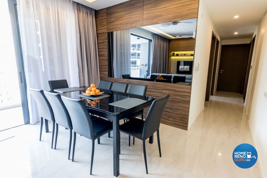Modern, Scandinavian Design - Dining Room - Condominium - Design by MJS Interior Pte Ltd