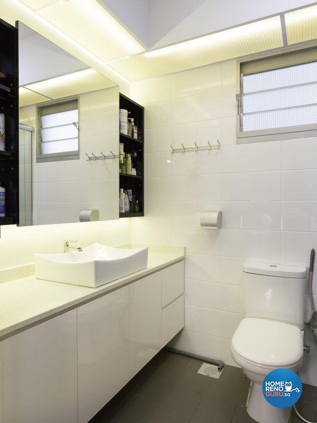 Classical, Modern Design - Bathroom - HDB 5 Room - Design by MJS Interior Pte Ltd
