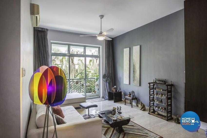 Modern Design - Living Room - Condominium - Design by MJS Interior Pte Ltd