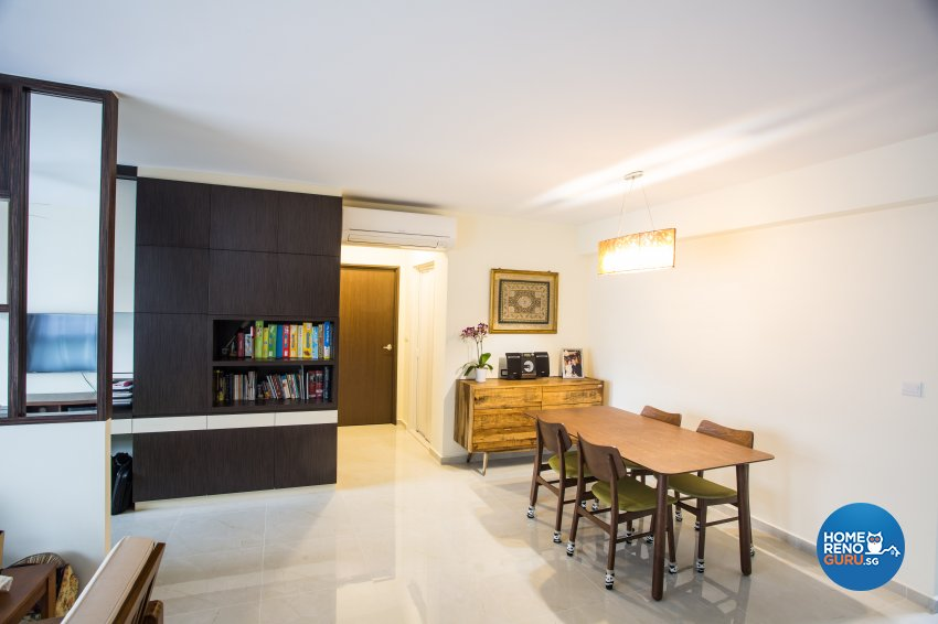 Contemporary, Modern Design - Dining Room - HDB 5 Room - Design by MJS Interior Pte Ltd