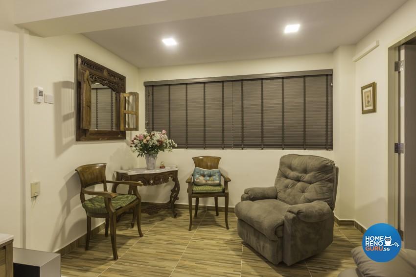Modern Design - Living Room - HDB 5 Room - Design by MJS Interior Pte Ltd