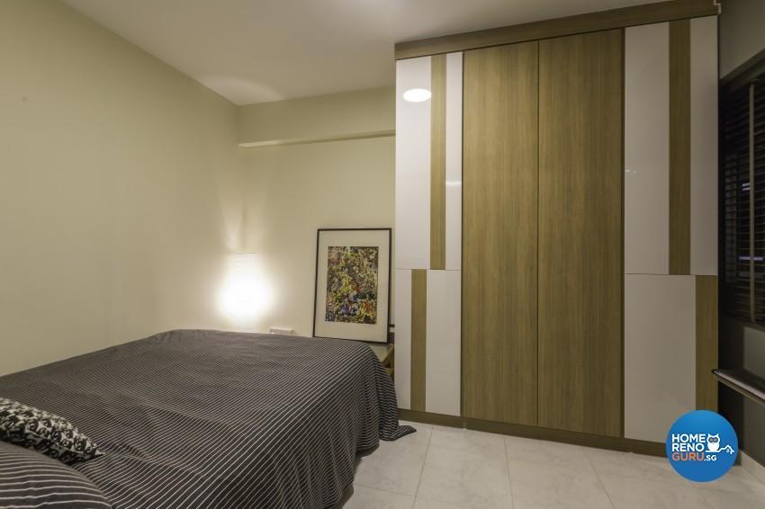 Modern Design - Bedroom - HDB 5 Room - Design by MJS Interior Pte Ltd