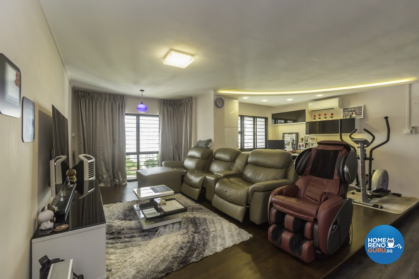 Classical, Modern Design - Living Room - HDB 5 Room - Design by MJS Interior Pte Ltd