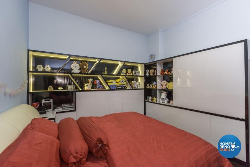 Classical, Modern Design - Bedroom - HDB 5 Room - Design by MJS Interior Pte Ltd