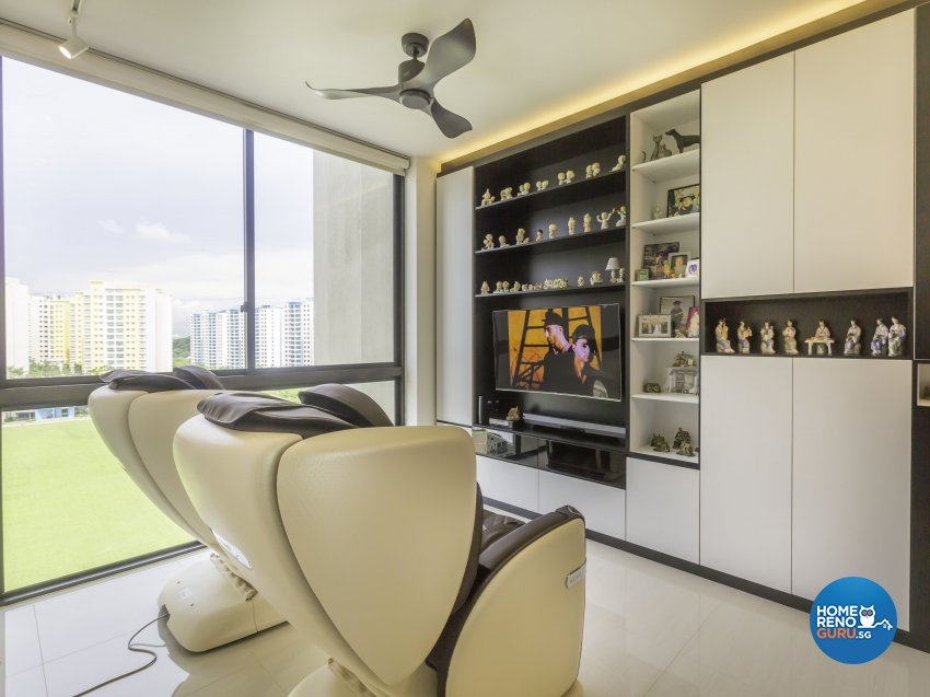 Contemporary, Modern Design - Living Room - Condominium - Design by MJS Interior Pte Ltd