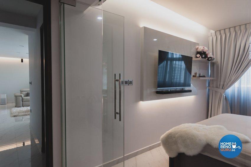 Contemporary, Modern Design - Bedroom - HDB 5 Room - Design by MMJ DESIGN LOFT PTE LTD