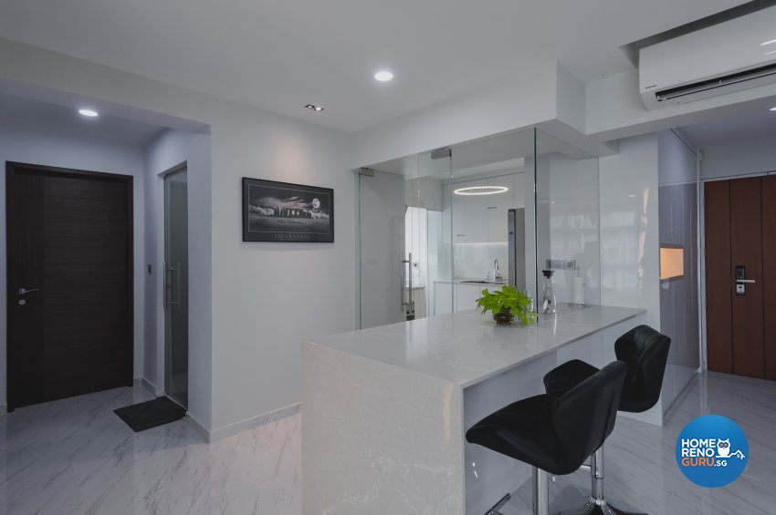 Contemporary, Modern Design - Dining Room - HDB 5 Room - Design by MMJ DESIGN LOFT PTE LTD
