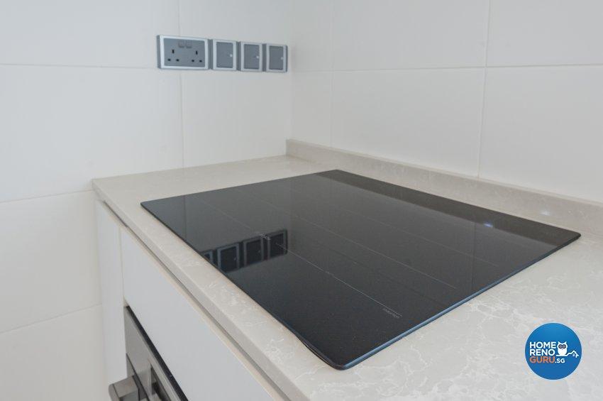 Contemporary, Modern Design - Kitchen - HDB 5 Room - Design by MMJ DESIGN LOFT PTE LTD