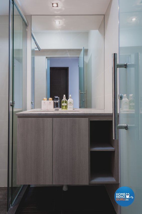 Contemporary, Modern Design - Bathroom - HDB 5 Room - Design by MMJ DESIGN LOFT PTE LTD