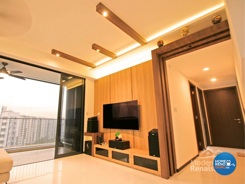 Contemporary, Modern Design - Entertainment Room - Condominium - Design by Modern Haus Renaissance Pte Ltd