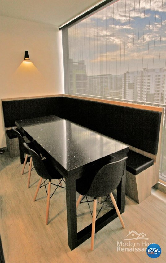 Contemporary, Modern Design - Dining Room - Condominium - Design by Modern Haus Renaissance Pte Ltd