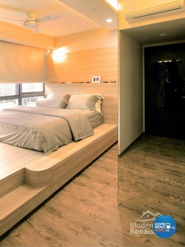 Contemporary, Modern Design - Bedroom - Condominium - Design by Modern Haus Renaissance Pte Ltd
