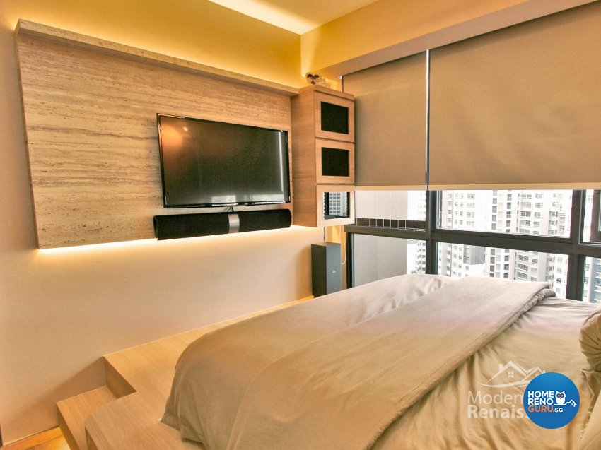 Contemporary, Modern Design - Bedroom - Condominium - Design by Modern Haus Renaissance Pte Ltd