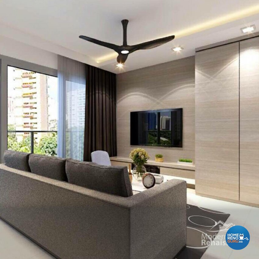 Contemporary, Modern Design - Living Room - Condominium - Design by Modern Haus Renaissance Pte Ltd