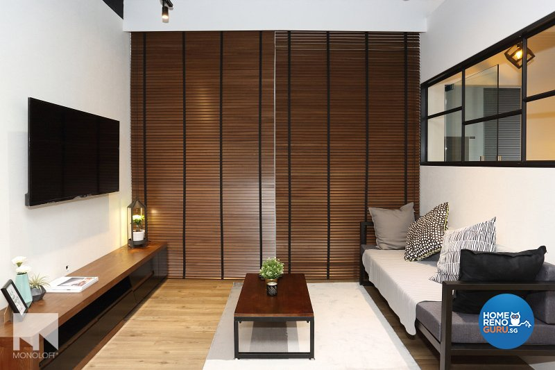 Industrial, Scandinavian Design - Living Room - Office - Design by MONOLOFT