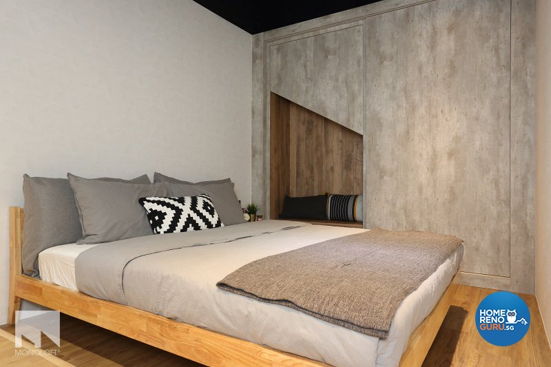 Industrial, Scandinavian Design - Bedroom - Office - Design by MONOLOFT