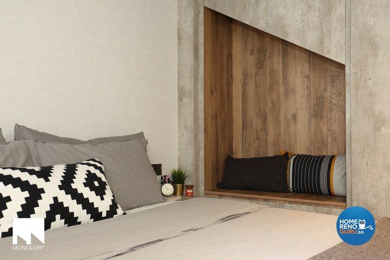 Industrial, Scandinavian Design - Bedroom - Office - Design by MONOLOFT
