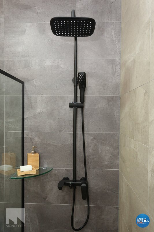Industrial, Scandinavian Design - Bathroom - Office - Design by MONOLOFT