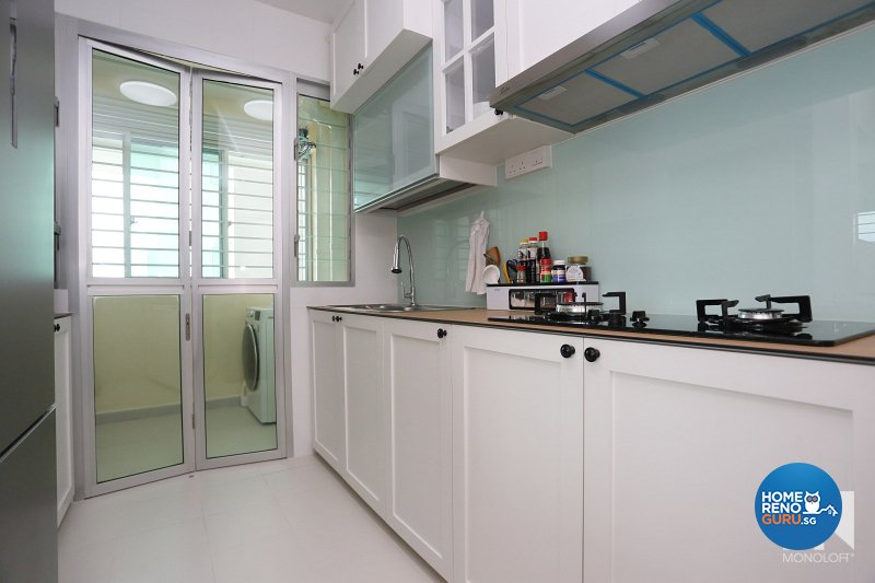 Country, Scandinavian Design - Kitchen - HDB 3 Room - Design by MONOLOFT