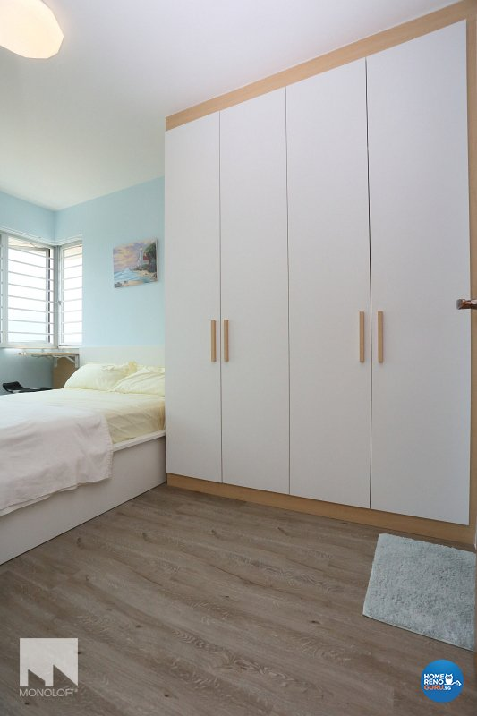 Country, Scandinavian Design - Bedroom - HDB 3 Room - Design by MONOLOFT