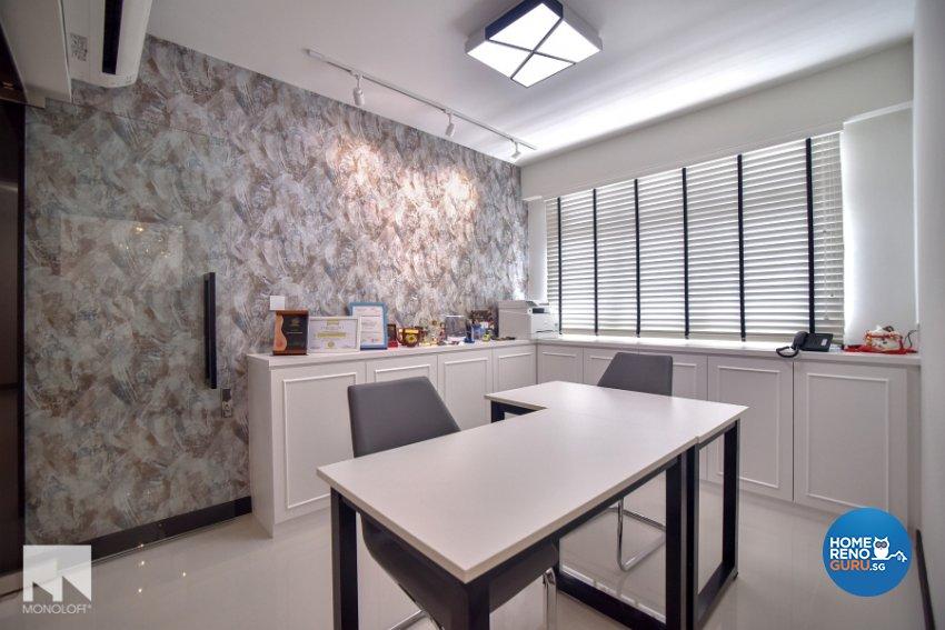 Minimalist Design - Study Room - HDB 4 Room - Design by MONOLOFT
