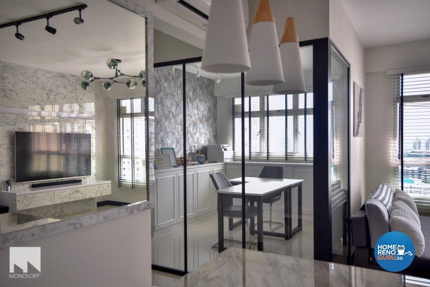 Minimalist Design - Dining Room - HDB 4 Room - Design by MONOLOFT