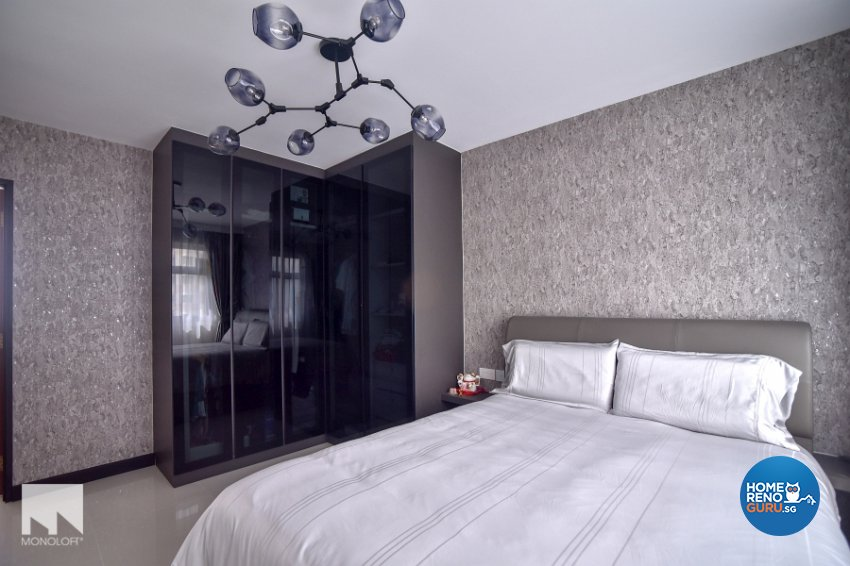 Minimalist Design - Bedroom - HDB 4 Room - Design by MONOLOFT