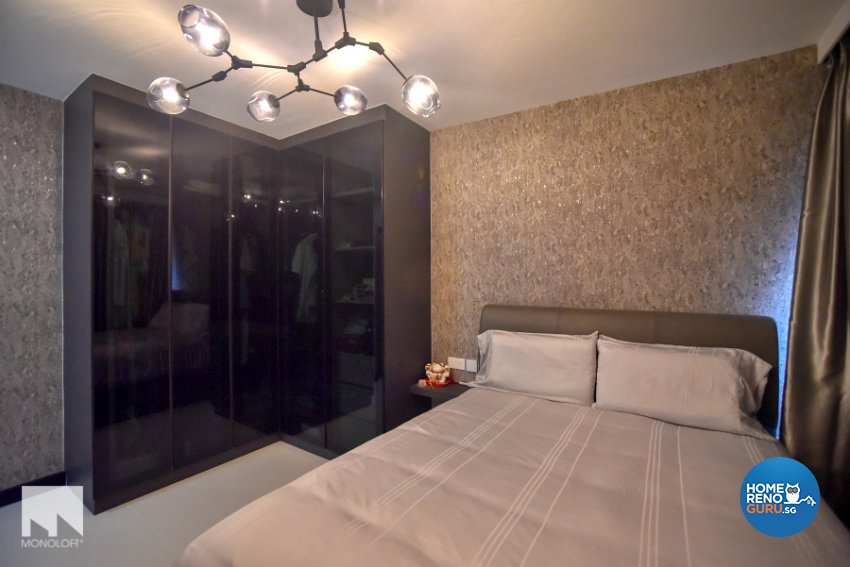 Minimalist Design - Bedroom - HDB 4 Room - Design by MONOLOFT