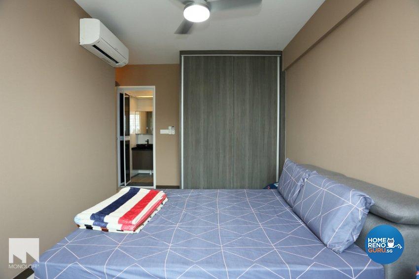 Contemporary, Minimalist Design - Bedroom - HDB 4 Room - Design by MONOLOFT