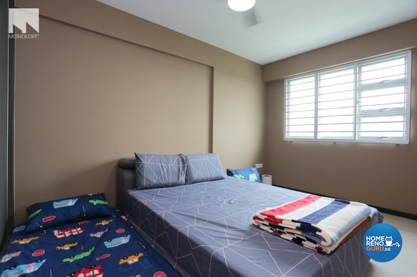 Contemporary, Minimalist Design - Bedroom - HDB 4 Room - Design by MONOLOFT