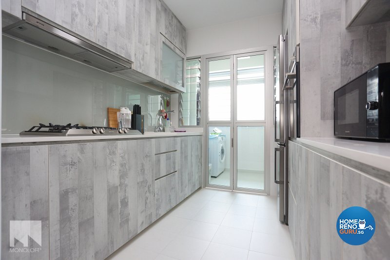 Scandinavian Design - Kitchen - HDB 4 Room - Design by MONOLOFT