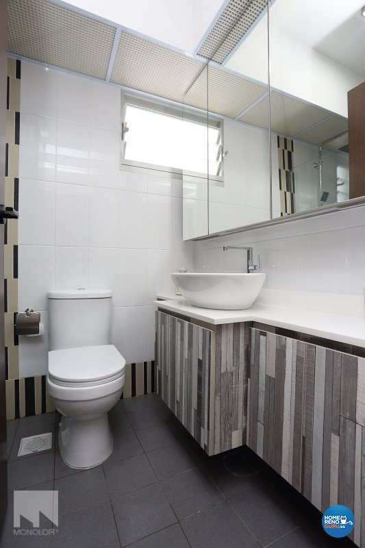 Scandinavian Design - Bathroom - HDB 4 Room - Design by MONOLOFT