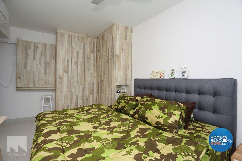 Scandinavian Design - Bedroom - HDB 4 Room - Design by MONOLOFT