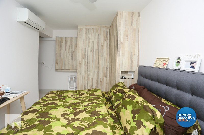 Scandinavian Design - Bedroom - HDB 4 Room - Design by MONOLOFT