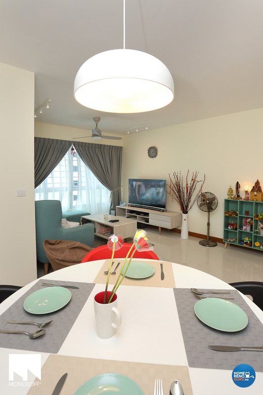 Scandinavian Design - Dining Room - HDB 4 Room - Design by MONOLOFT