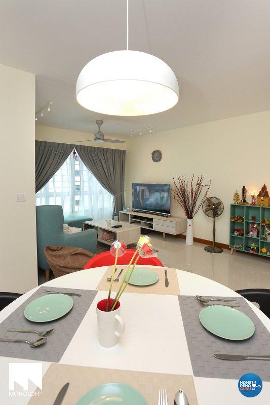 Scandinavian Design - Dining Room - HDB 4 Room - Design by MONOLOFT