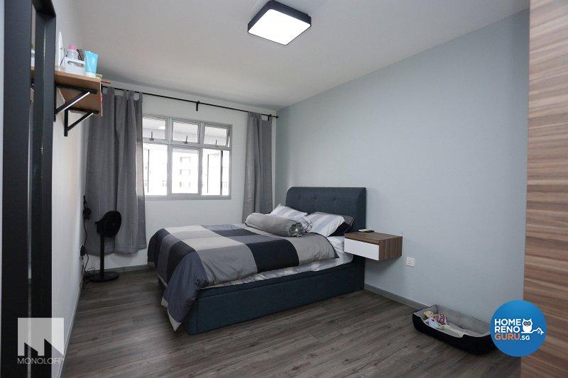 Minimalist, Scandinavian Design - Bedroom - HDB 4 Room - Design by MONOLOFT
