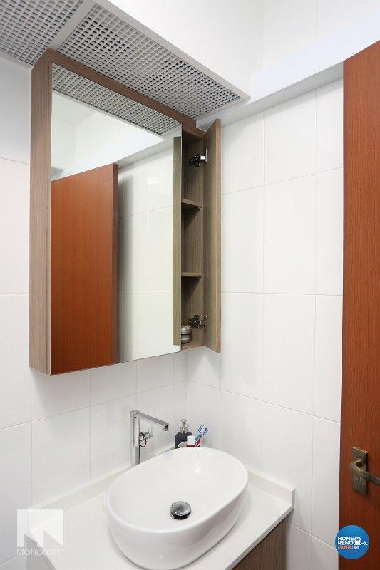 Minimalist, Scandinavian Design - Bathroom - HDB 4 Room - Design by MONOLOFT