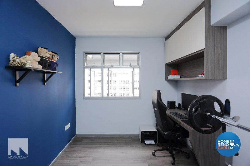 Minimalist, Scandinavian Design - Study Room - HDB 4 Room - Design by MONOLOFT