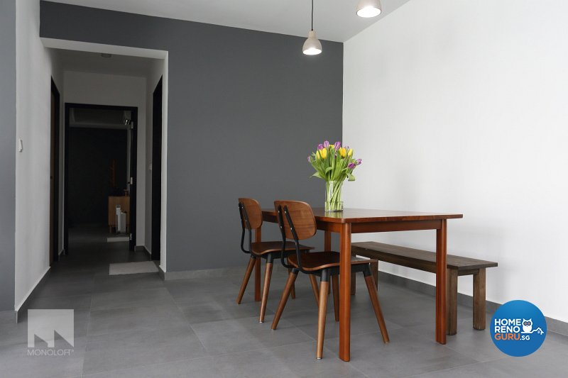 Minimalist Design - Dining Room - HDB 5 Room - Design by MONOLOFT