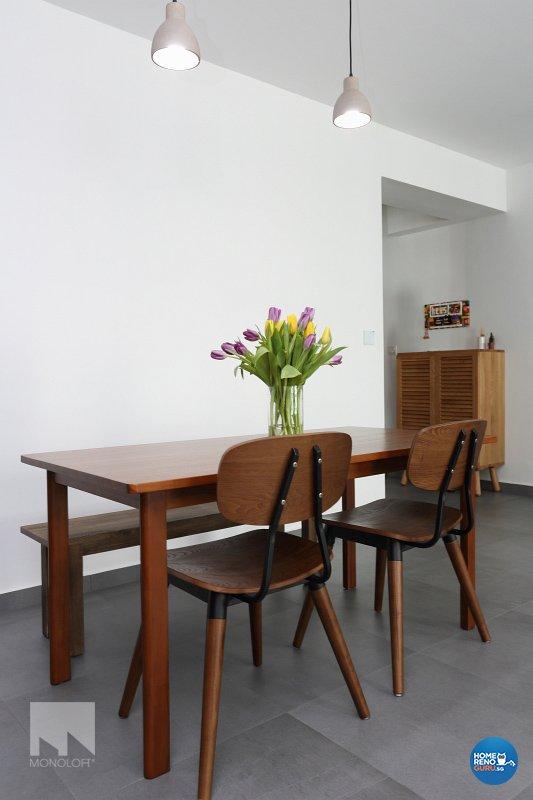 Minimalist Design - Dining Room - HDB 5 Room - Design by MONOLOFT