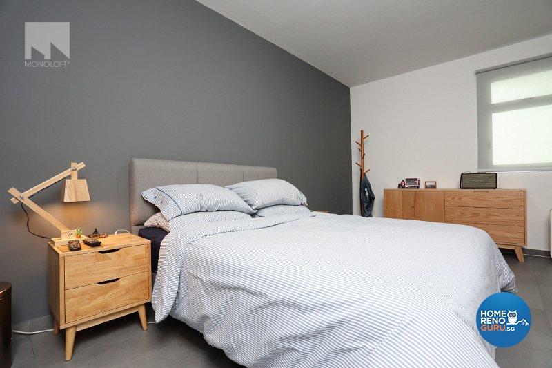 Minimalist Design - Bedroom - HDB 5 Room - Design by MONOLOFT
