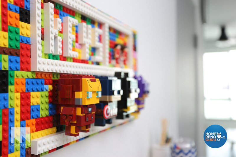 Minimalist Design - Living Room - HDB 5 Room - Design by MONOLOFT