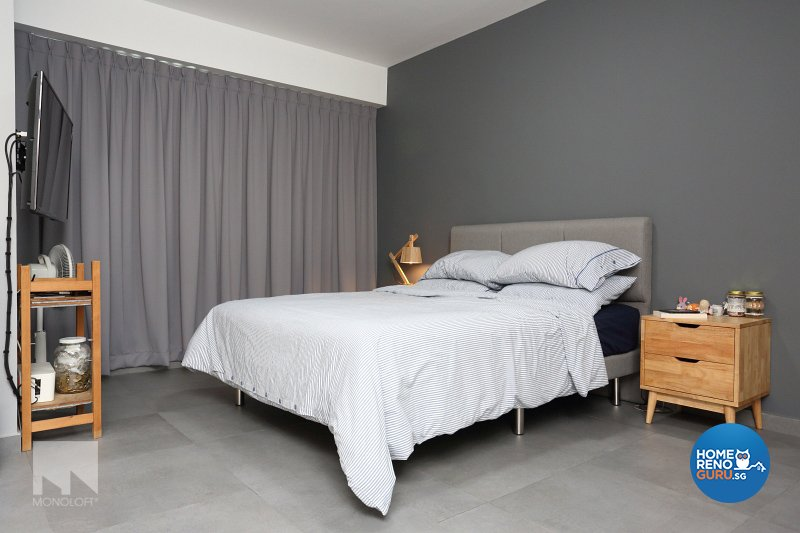 Minimalist Design - Bedroom - HDB 5 Room - Design by MONOLOFT