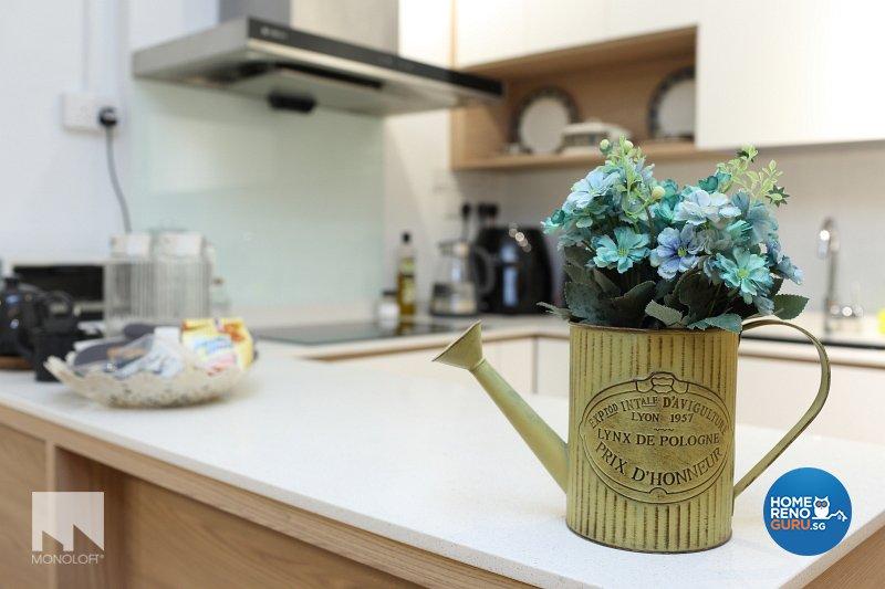 Scandinavian Design - Kitchen - HDB 3 Room - Design by MONOLOFT