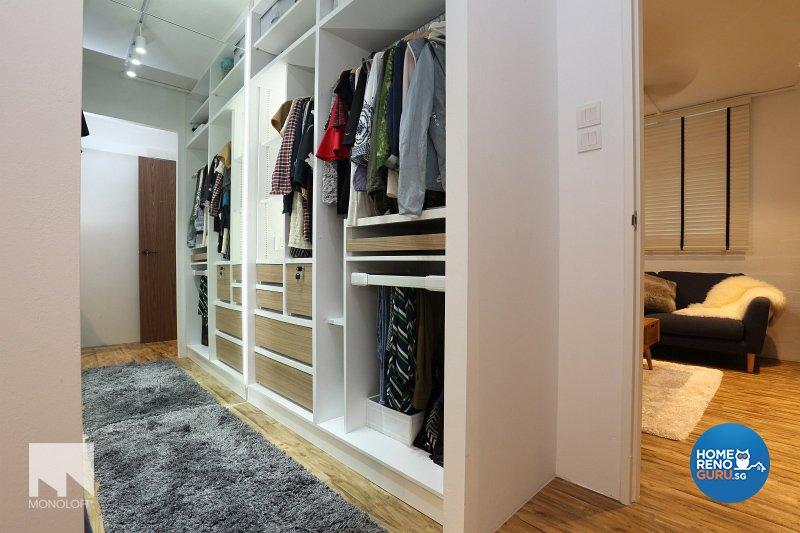 Scandinavian Design - Bedroom - HDB 3 Room - Design by MONOLOFT
