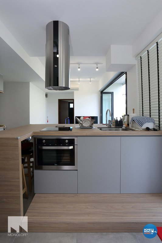 Minimalist, Scandinavian Design - Kitchen - Condominium - Design by MONOLOFT